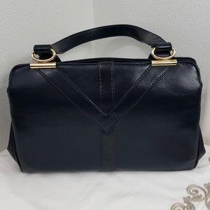 Handbags - Vintage Dark Blue Handbag